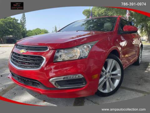 2015 Chevrolet Cruze for sale at Amp Auto Collection in Fort Lauderdale FL