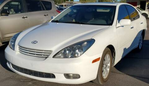 2003 Lexus ES 300 for sale at AZ Auto and Equipment Sales in Mesa AZ