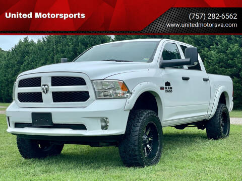 2014 RAM Ram Pickup 1500 for sale at United Motorsports in Virginia Beach VA