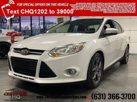 2014 Ford Focus for sale at CERTIFIED HEADQUARTERS in St James NY
