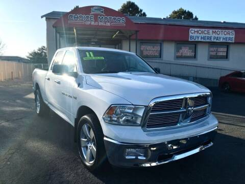 2011 RAM Ram Pickup 1500 for sale at Choice Motors of Salt Lake City in West Valley  City UT