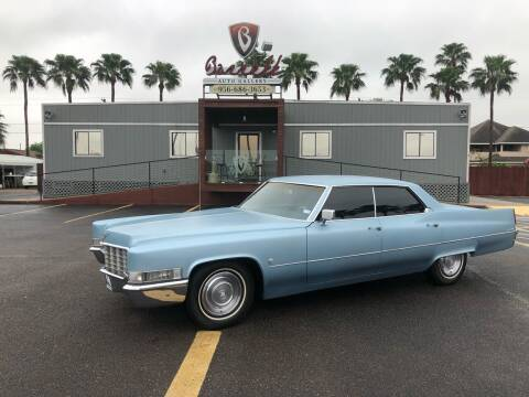 1969 Cadillac Sedan De Ville for sale at Barrett Auto Gallery in San Juan TX