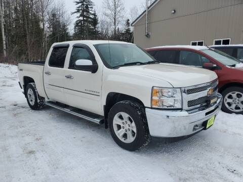 2012 Chevrolet Silverado 1500 for sale at Jeff's Sales & Service in Presque Isle ME