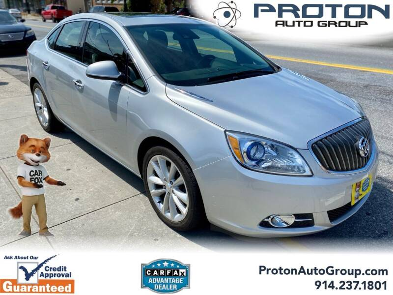 2014 Buick Verano for sale at Proton Auto Group in Yonkers NY