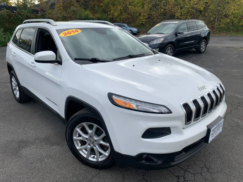 2014 Jeep Cherokee for sale at Bob Karl's Sales & Service in Troy NY