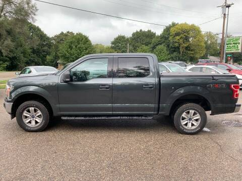 2018 Ford F-150 for sale at SS AUTO PRO'S in Otsego MI