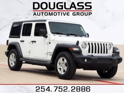 2018 Jeep Wrangler Unlimited for sale at Douglass Automotive Group - Douglas Subaru in Waco TX