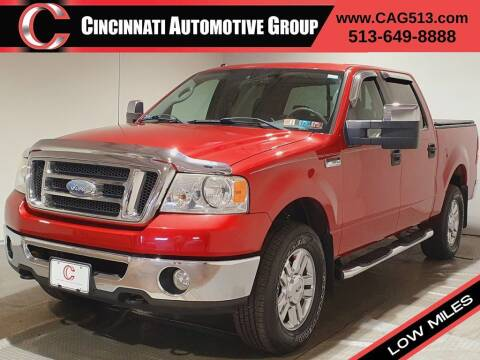 2008 Ford F-150 for sale at Cincinnati Automotive Group in Lebanon OH