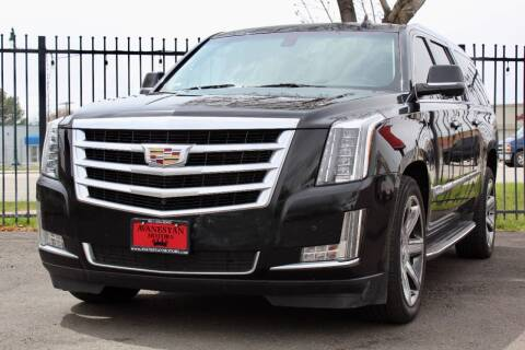 2016 Cadillac Escalade ESV for sale at Avanesyan Motors in Orem UT