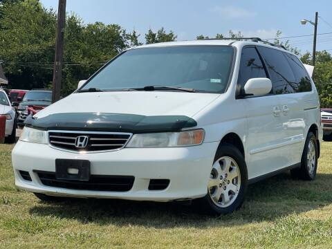 2002 Honda Odyssey for sale at Texas Select Autos LLC in Mckinney TX