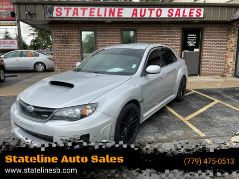 2011 Subaru Impreza for sale at Stateline Auto Sales in South Beloit IL