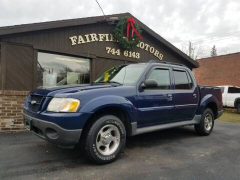 2004 Ford Explorer Sport Trac for sale at Fairfield Motors in Fort Wayne IN