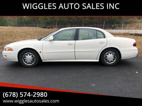 2004 Buick LeSabre for sale at WIGGLES AUTO SALES INC in Mableton GA