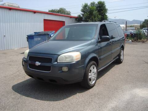 2006 Chevrolet Uplander for sale at One Community Auto LLC in Albuquerque NM