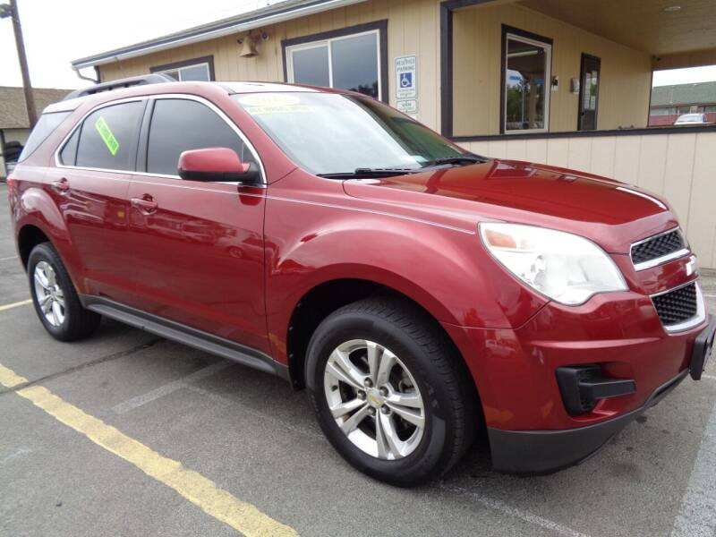 2012 Chevrolet Equinox for sale at BBL Auto Sales in Yakima WA