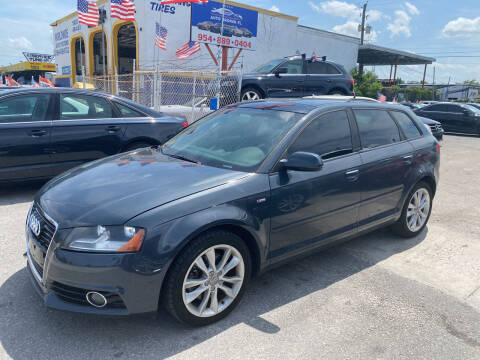 2012 Audi A3 for sale at INTERNATIONAL AUTO BROKERS INC in Hollywood FL