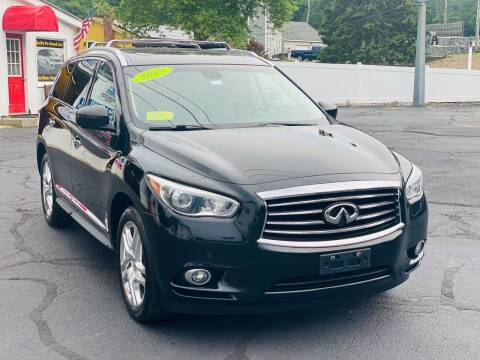 2013 Infiniti JX35 for sale at Milford Automall Sales and Service in Bellingham MA