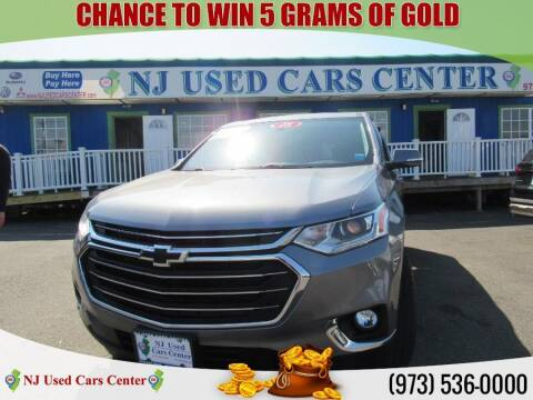 2018 Chevrolet Traverse for sale at New Jersey Used Cars Center in Irvington NJ