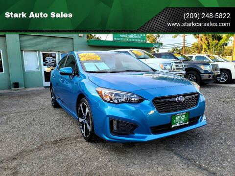 2018 Subaru Impreza for sale at Stark Auto Sales in Modesto CA