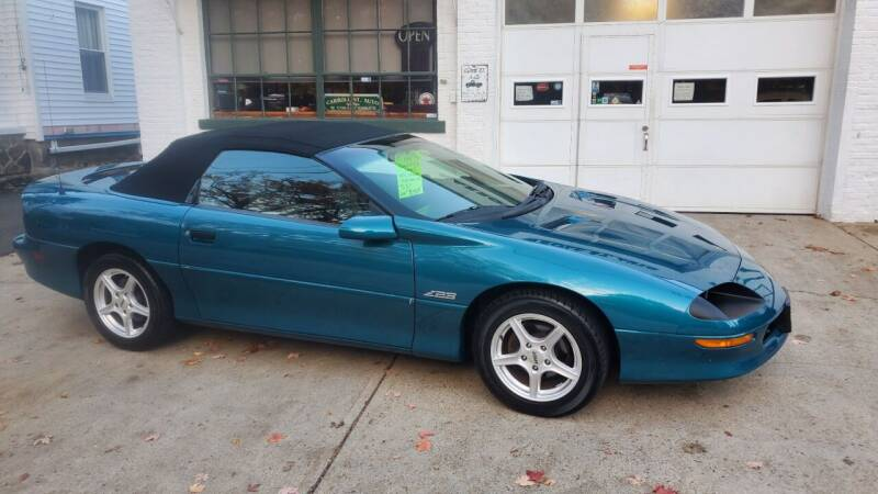 1995 Chevrolet Camaro Z28 Convertible for sale at Carroll Street Auto in Manchester NH