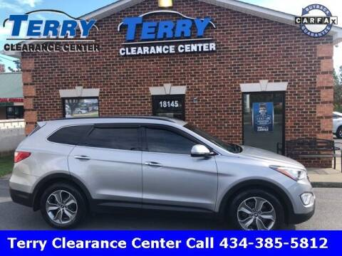 2014 Hyundai Santa Fe for sale at Terry Clearance Center in Lynchburg VA