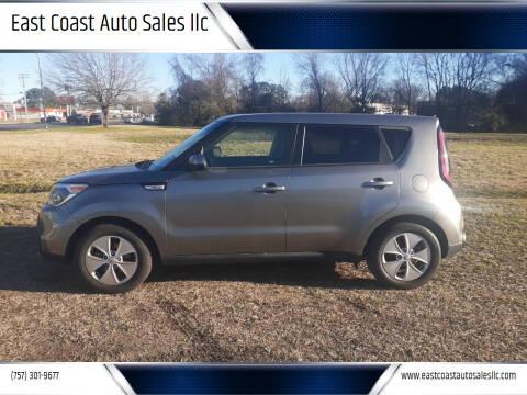 2015 Kia Soul for sale at East Coast Auto Sales llc in Virginia Beach VA
