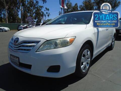 2011 Toyota Camry for sale at Centre City Motors in Escondido CA