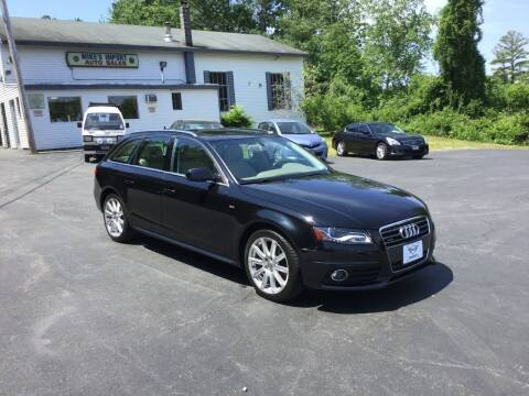 2012 Audi A4 for sale at Mikes Import Auto Sales INC in Hooksett NH