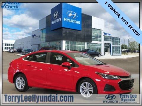 2019 Chevrolet Cruze for sale at Terry Lee Hyundai in Noblesville IN