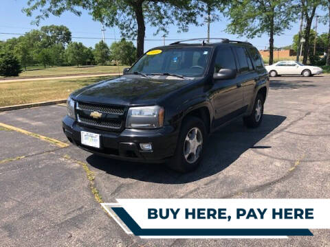 2008 Chevrolet TrailBlazer for sale at Stryker Auto Sales in South Elgin IL