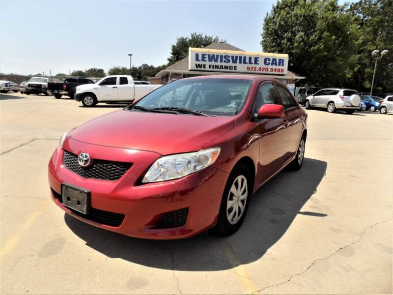 2009 Toyota Corolla for sale at Lewisville Car in Lewisville TX
