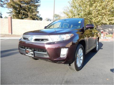 2012 Toyota Highlander Hybrid for sale at A-1 Auto Wholesale in Sacramento CA