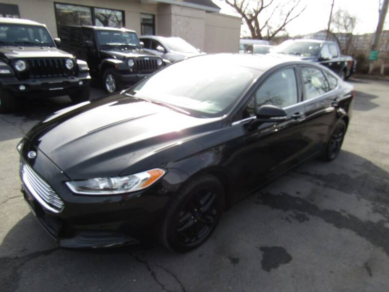 2016 Ford Fusion for sale at 2010 Auto Sales in Troy NY