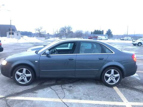 2004 Audi A4 for sale at Cannon Falls Auto Sales in Cannon Falls MN