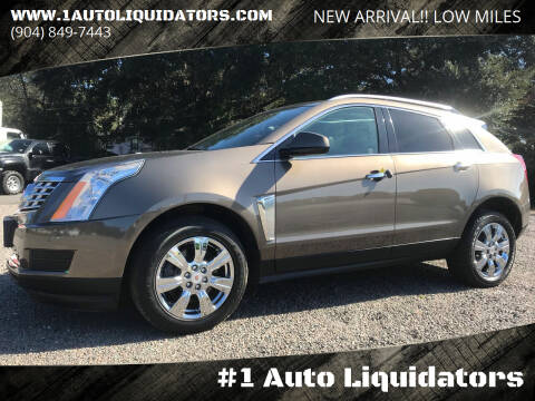 2016 Cadillac SRX for sale at #1 Auto Liquidators in Yulee FL