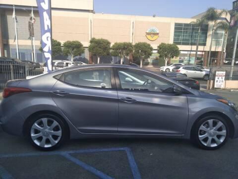 2012 Hyundai Elantra for sale at Western Motors Inc in Los Angeles CA