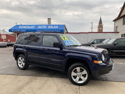 2012 Jeep Patriot for sale at Gonzalez Auto Sales in Joliet IL