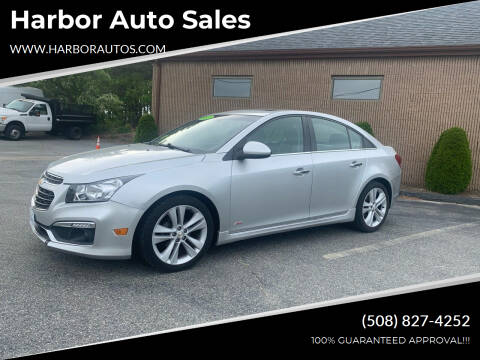 2015 Chevrolet Cruze for sale at Harbor Auto Sales in Hyannis MA