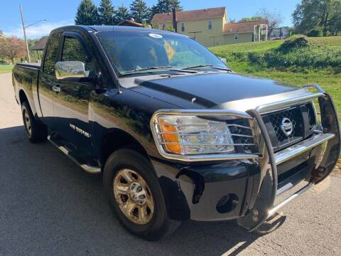 2005 Nissan Titan for sale at Trocci's Auto Sales in West Pittsburg PA