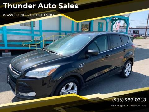 2015 Ford Escape for sale at Thunder Auto Sales in Sacramento CA