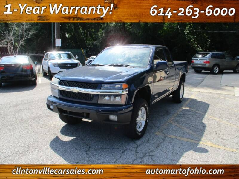 2010 Chevrolet Colorado for sale at Clintonville Car Sales - AutoMart of Ohio in Columbus OH