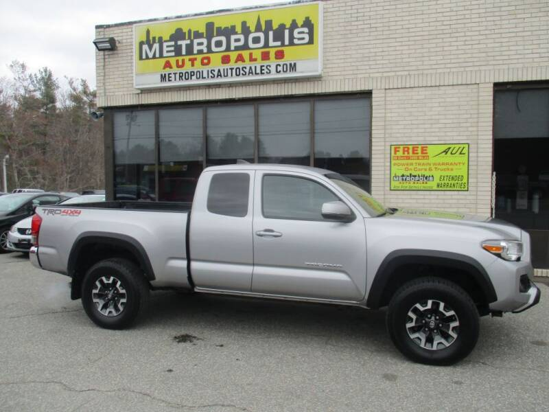 2016 Toyota Tacoma for sale at Metropolis Auto Sales in Pelham NH
