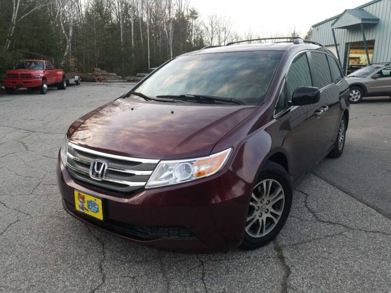 2012 Honda Odyssey for sale at Granite Auto Sales in Spofford NH