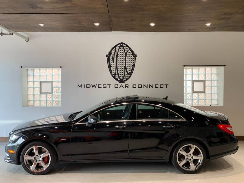 2012 Mercedes-Benz CLS for sale at Midwest Car Connect in Villa Park IL