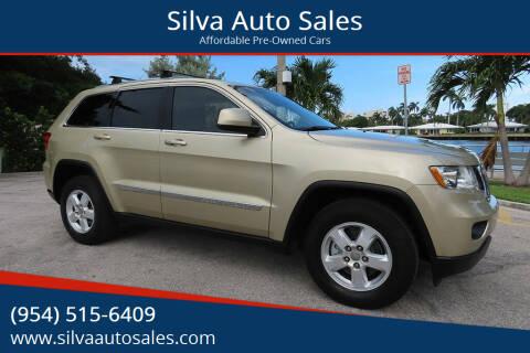 2011 Jeep Grand Cherokee for sale at Silva Auto Sales in Pompano Beach FL