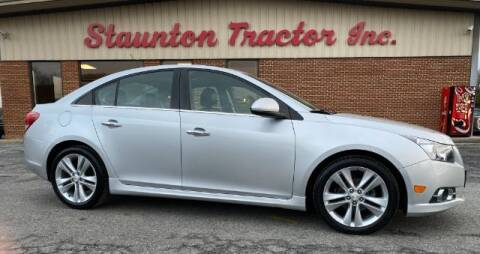 2014 Chevrolet Cruze for sale at STAUNTON TRACTOR INC in Staunton VA