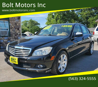 2008 Mercedes-Benz C-Class for sale at Bolt Motors Inc in Davenport IA