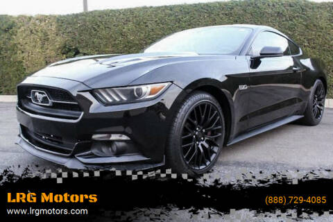 2015 Ford Mustang for sale at LRG Motors in Montclair CA
