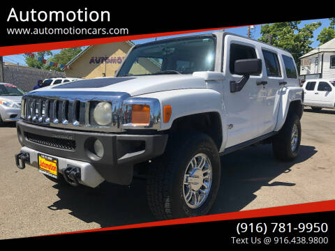 2008 HUMMER H3 for sale at Automotion in Roseville CA