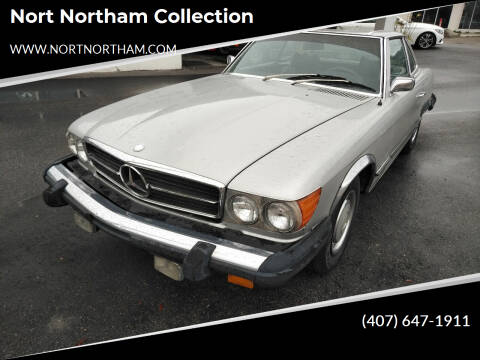 1974 Mercedes-Benz 450 SL for sale at Nort Northam Collection in Winter Park FL